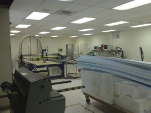 CNC room