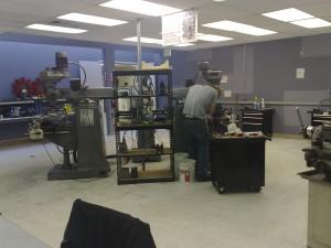 Metal Working Room