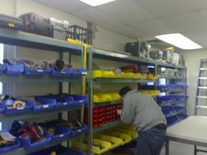 Hand tool room