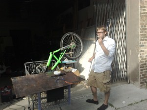 Making an electric bike in the back of PSOne
