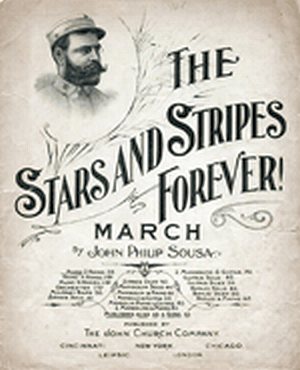 Stars and Stripes March Poster