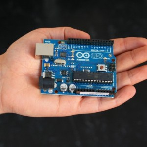 Arduino in hand