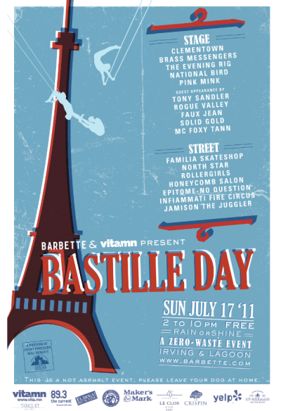 Bastille Day 2011 Poster