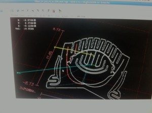 Chair tool paths in LinuxCNC